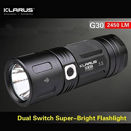 klarus G30 flashlight